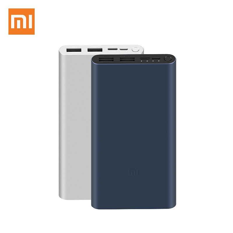 Xiaomi Power Bank 3 10000mAh PLM13ZM Dual USB 18W Fast Charging Mi Powerbank 10000 Portable Charger01