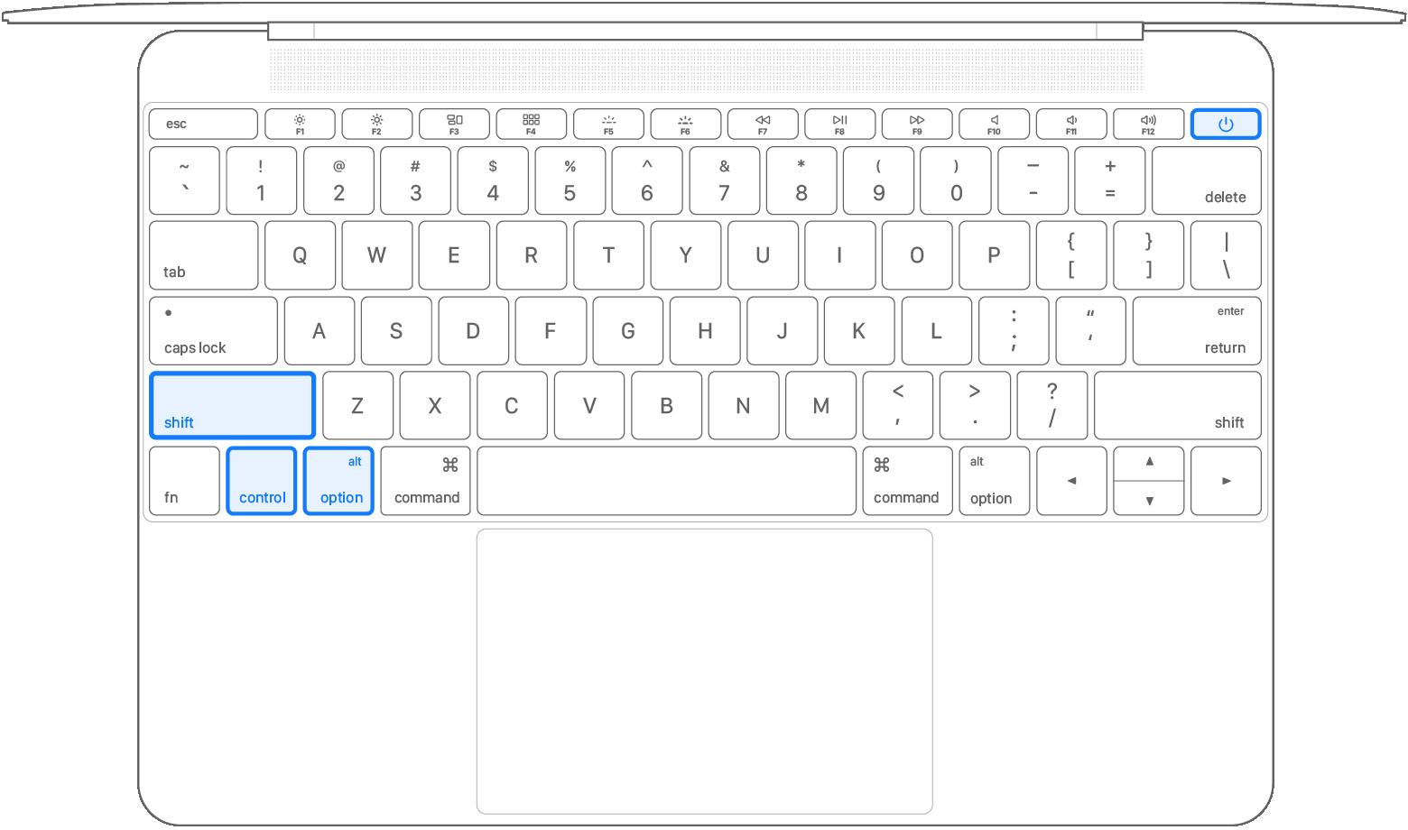 2016 macbook keyboard diagram smc