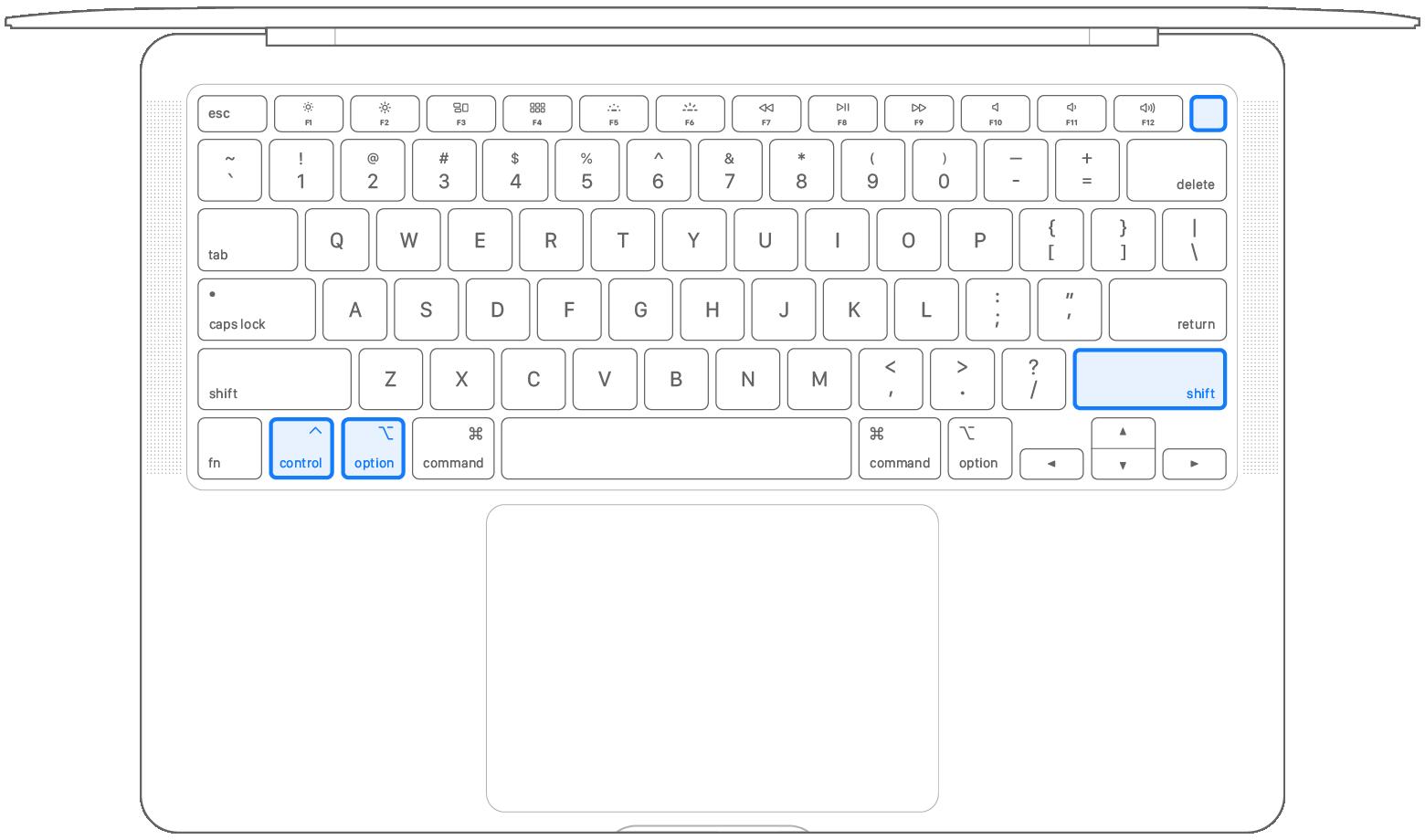 2020 macbook air keyboard diagram smc