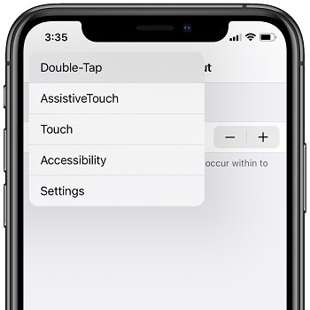 Long press Back button in Settings to quickly return to Settings main screen