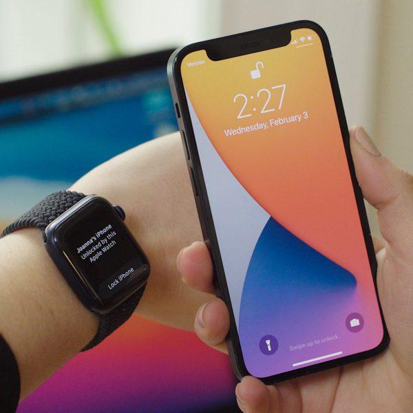 iOS 14.5 Apple Watch Unlock with iPhon