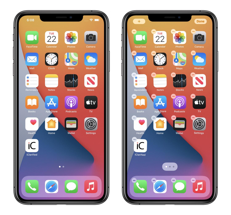 iOS14 Hide Home Screen 1