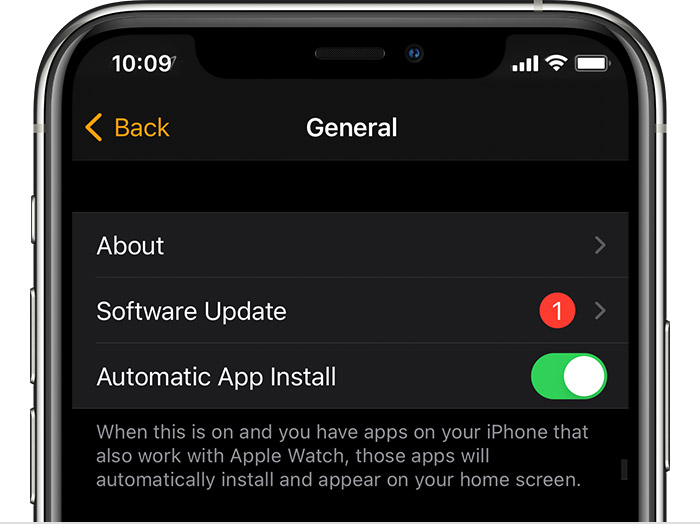 ios14 iphone11 pro watchos7 settings general software update available