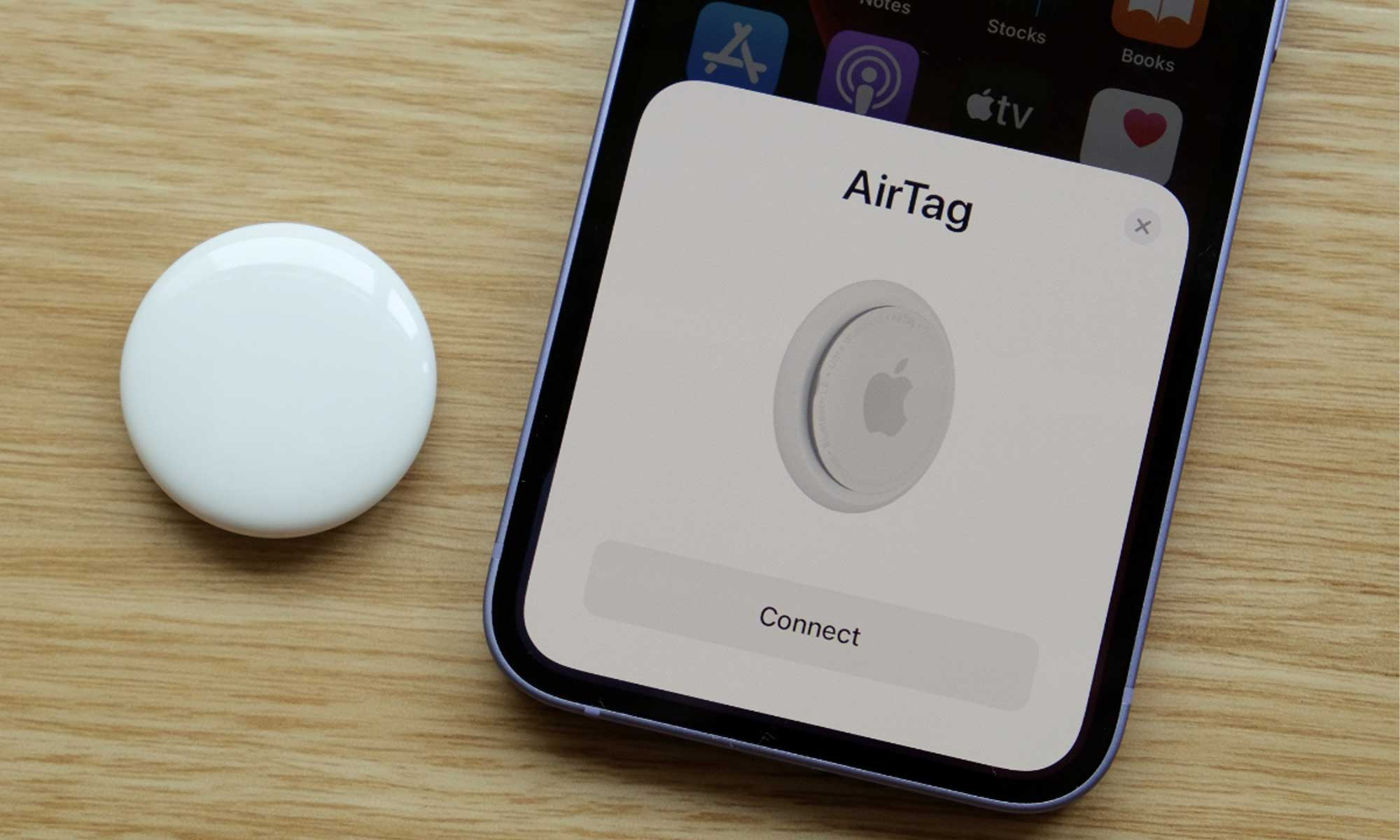iphone connect airtag 1
